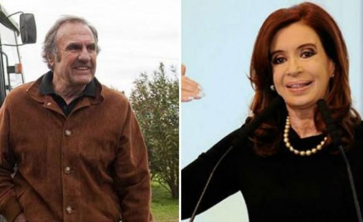 Cristina Kirchner envió condolencias a la familia de Carlos Reutemann
