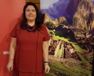 Milagros Ochoa apresentou o segmento de Luxo no Peru. (Foto: DIÁRIO)