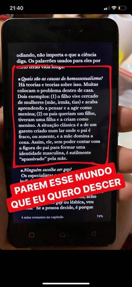 """b3 00540160 2  - """"Como evitar o homossexualismo?"""": pergunta professor de português em prova para alunos do nono ano"""