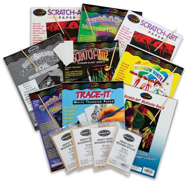 Scratch-Art Variety Classroom Pack