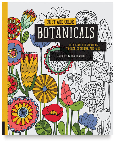 Just Add Color Botanicals ~ The Books Every Crafter Needs to Own || www.thepaperycraftery.com
