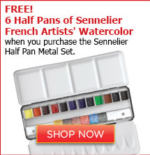 Sennelier French Artists' Watercolor Set