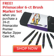 Prismacolor Premier Marker Zipper Case Set