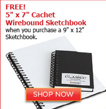 Cachet Wirebound Sketchbook