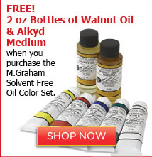 M.Graham Solvent Free Oil Color Set