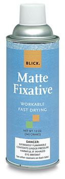 Blick Matte Fixative, 12 oz