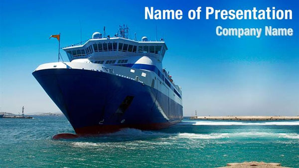 Ferry Boat Powerpoint Templates Ferry Boat Powerpoint