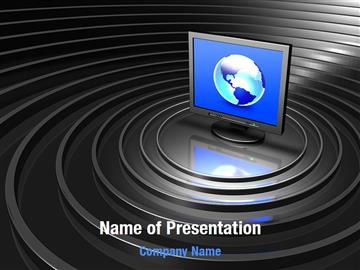 Network Powerpoint Template  free computer network powerpoint