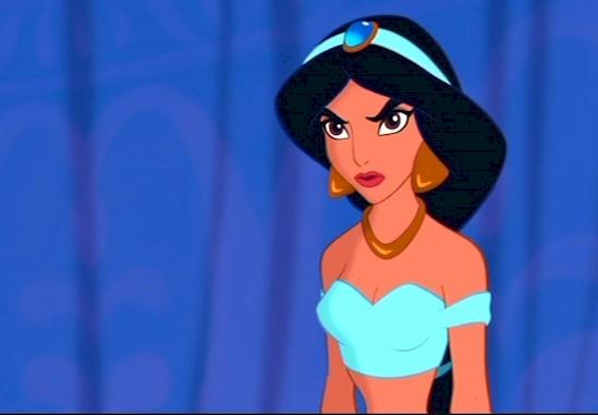 4. Jasmine, Aladdin(1992).