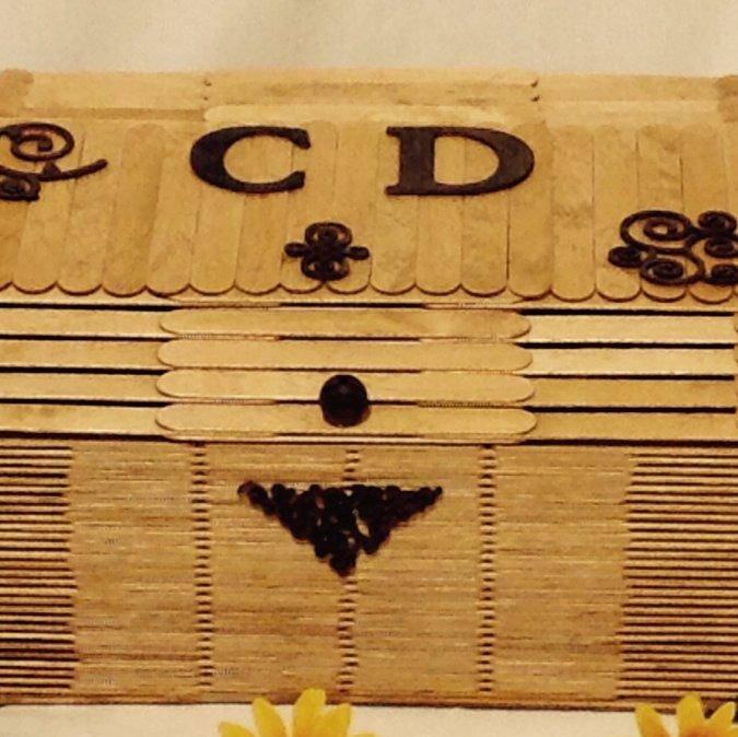 coffre de rangement pour cd