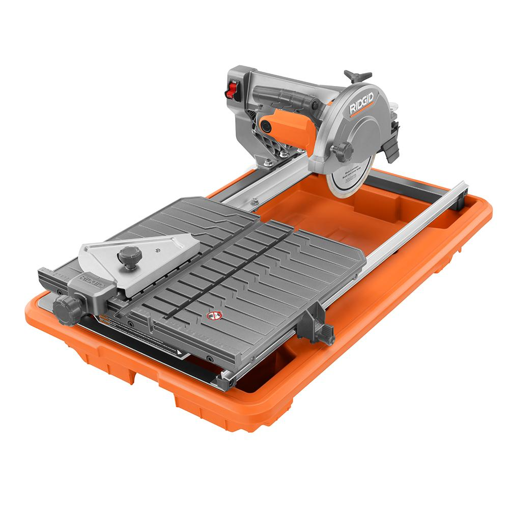 ridgid 7 in tile saw