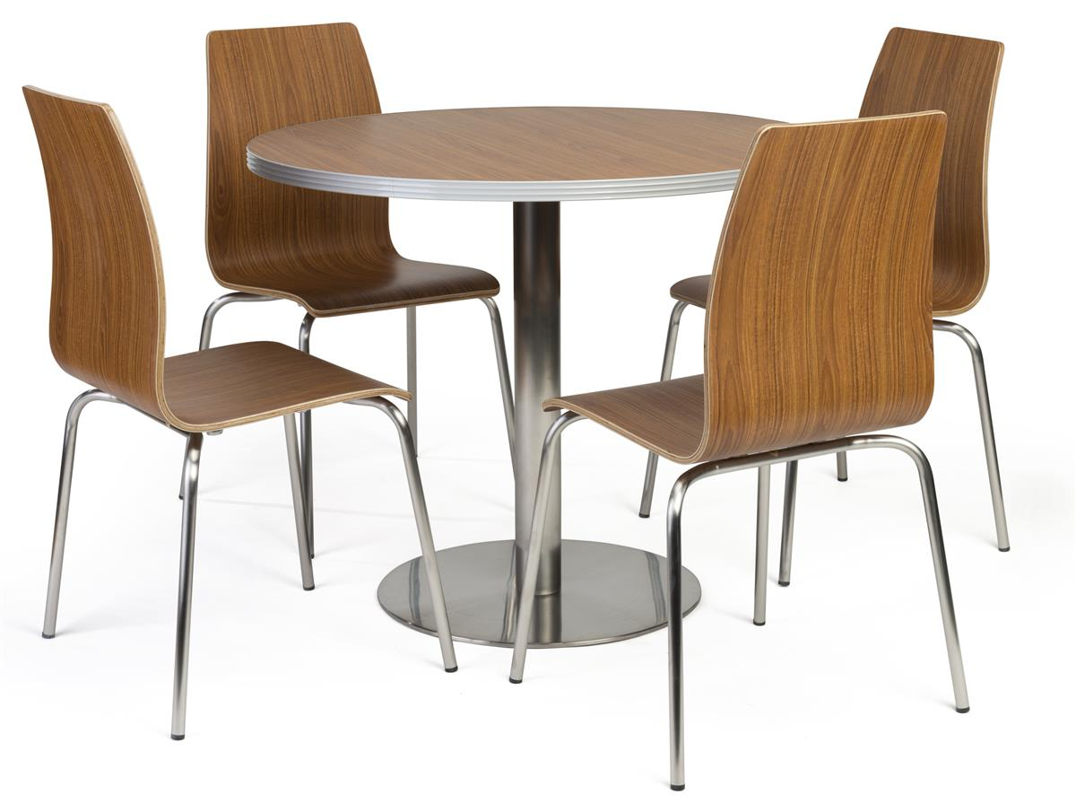 Bistro Style Lunchroom Table And Chairs