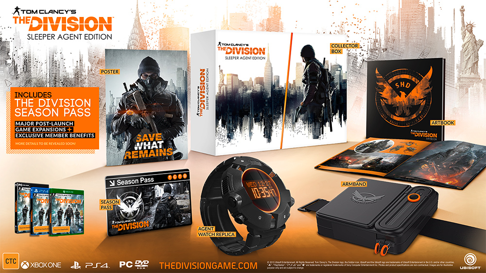 Editions Amp Pre Order The Division Zone