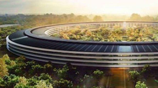 2014, Apple Bangun Markas Hijau