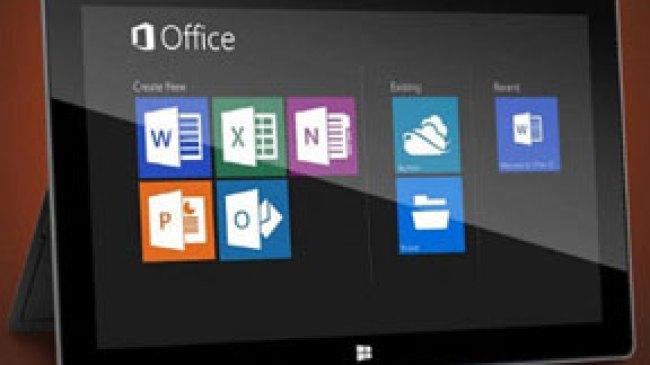 2014, Microsoft Office Mendarat di iOS dan Android
