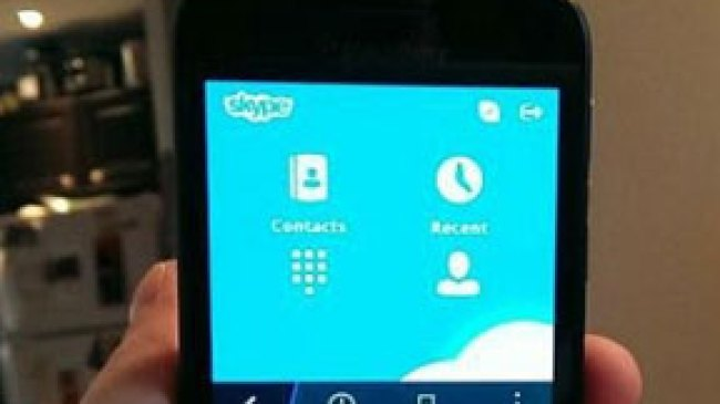 BlackBerry Q10, Kehadiran Aplikasi Skype