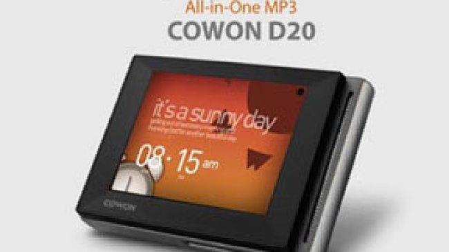 Cowon D20, Mp3 Player Tahan Hingga 90 Jam