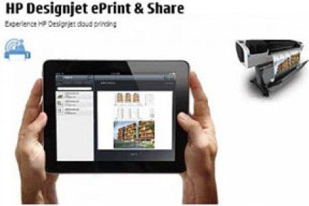 HP Designjet, Mampu Cetak Jarak Jauh