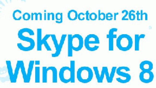 Skype Rilis Versi baru untuk Windows 8