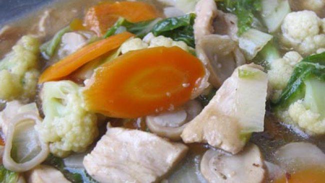 Tingkatkan Daya Tahan Tubuh dengan Sup Ayam Jamur
