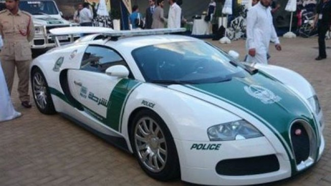 Polisi Dubai, Dibekali Mobil Bugatti Veyron
