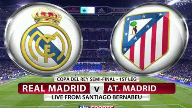Jelang duel Real Madrid Vs Athletico Madrid