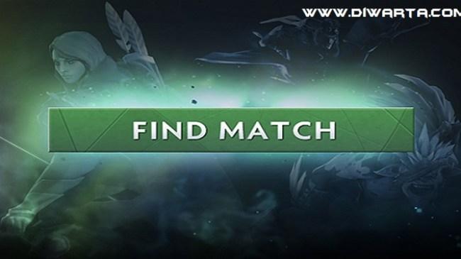 """Perubahan mendalam pada """"FIND MATCH"""" Dota 2"""