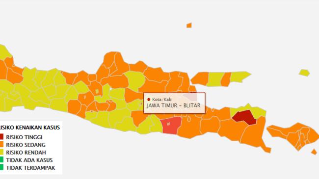 Zona Merah Untuk Kabupaten Blitar, Apa Indikatornya?
