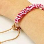 Einfaches Freundschaftsband Zuckerstrangen Armband Geschenk Fur Die Beste Freundin Diy