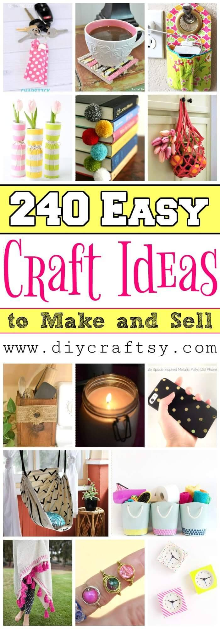 Craft Ideas Make And Sell Home
