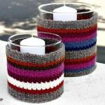 Crochet Jar Covers 35 Free Mason Jar Cozy Patterns Diy Crafts
