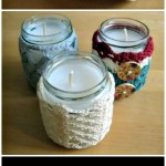 Crochet Jar Covers 35 Free Mason Jar Cozy Patterns Diy Crafts