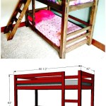 22 Low Budget Diy Bunk Bed Plans To Upgrade Your Kids Room Diy