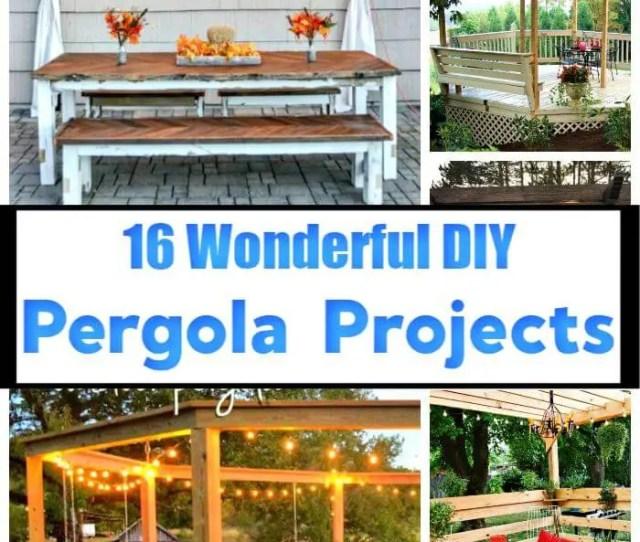 Diy Pergola Projects Diy Pergola Plans Diy Pergola Ideas Diy Projects Diy