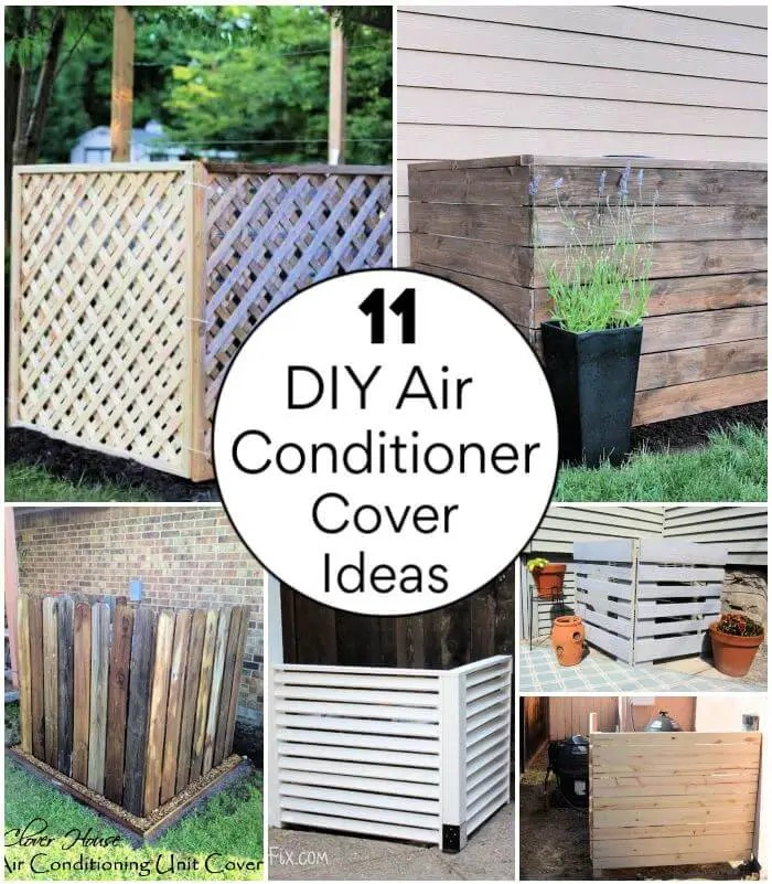 11 diy air conditioner cover ideas try