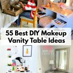 55 Free Diy Vanity Table Plans Diy Makeup Vanity Ideas