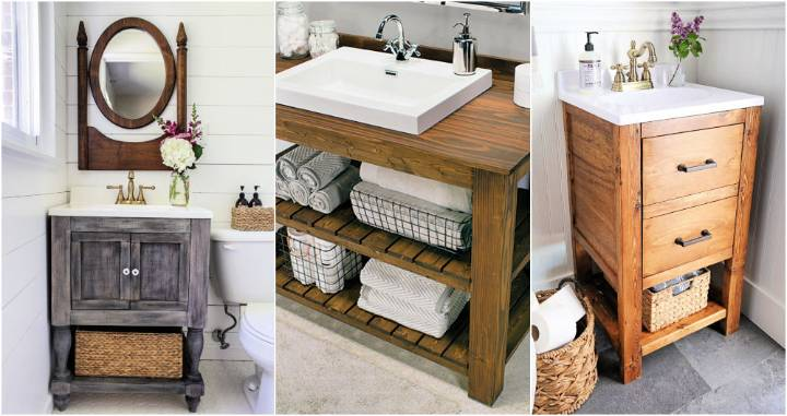 build a diy bathroom vanity