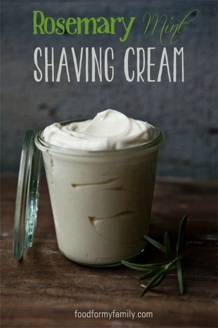 Rosemary Mint Shaving Cream