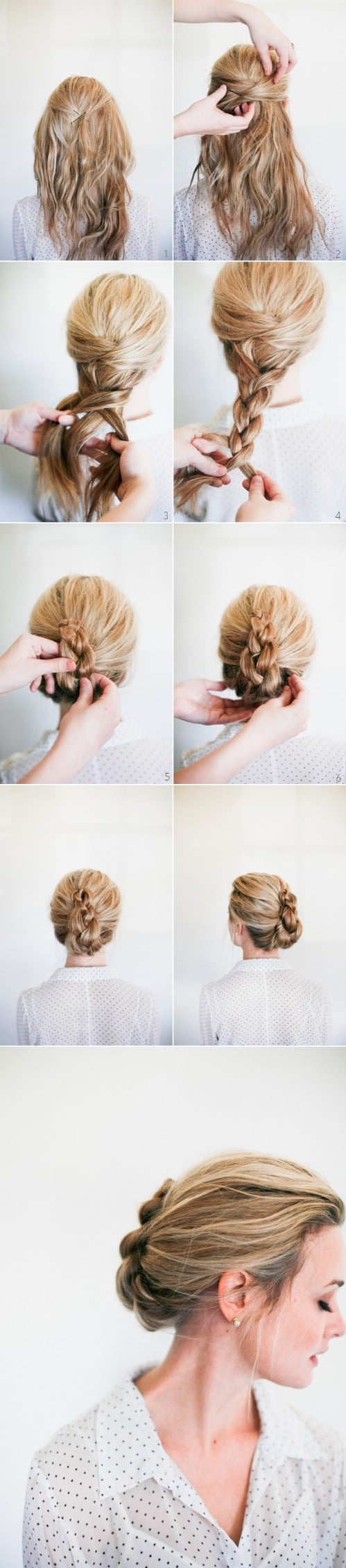 20 gorgeous 5-minute hairstyles to save you some snooze time