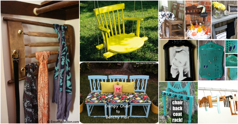 20 Brilliantly Creative Ways To Repurpose Old Chairs Diy