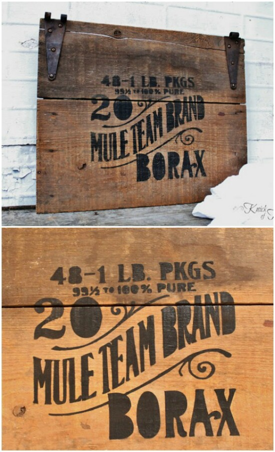 12 crate sign diyncraftscom farmhouse furniture collection