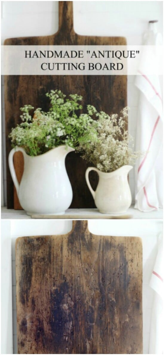 18 antique cutting board diyncraftscom farmhouse furniture collection