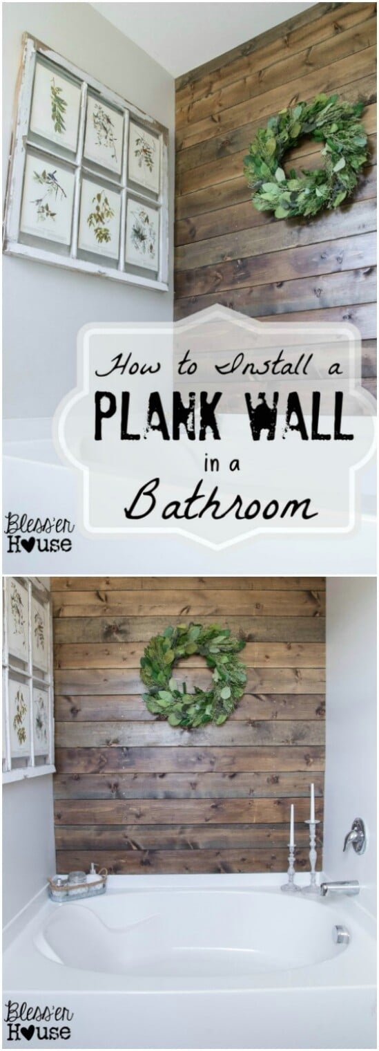 31 plank wall diyncraftscom farmhouse furniture collection