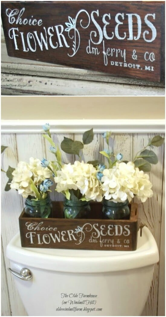53 flower seed box diyncraftscom farmhouse furniture collection
