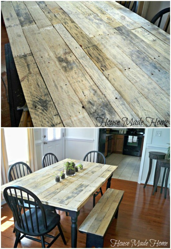 54 table pallet diyncraftscom farmhouse furniture collection