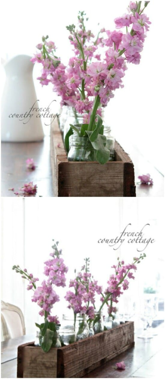 8 flower holder diyncraftscom farmhouse furniture collection