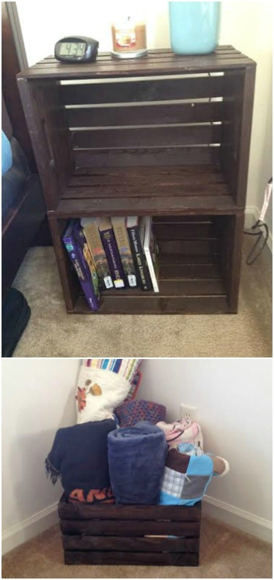 easy diy nightstand projects