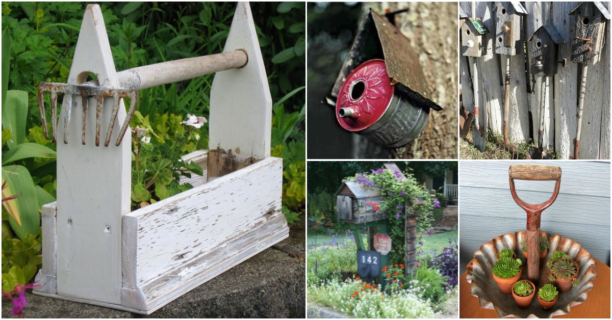 25 Rustic Repurposing Ideas To Make Good Use Of Old