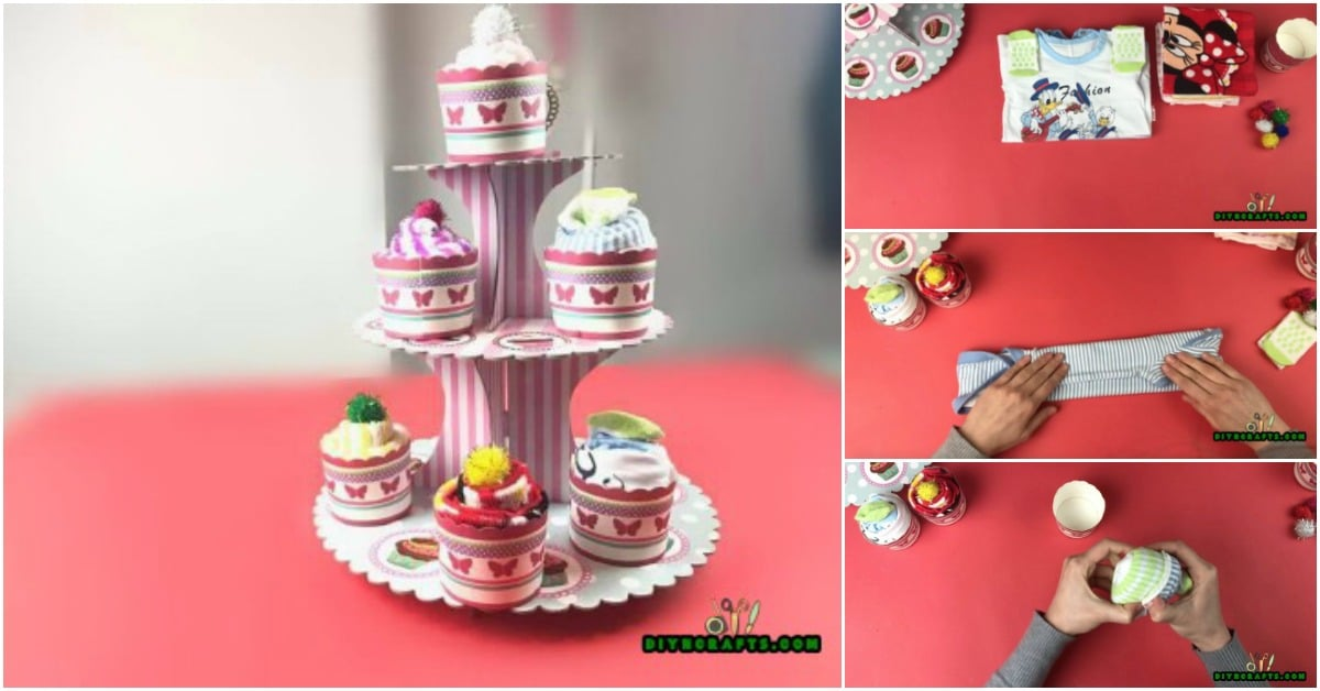 How To Make Cute Diy Baby Shower Cupcakes Out Of Baby