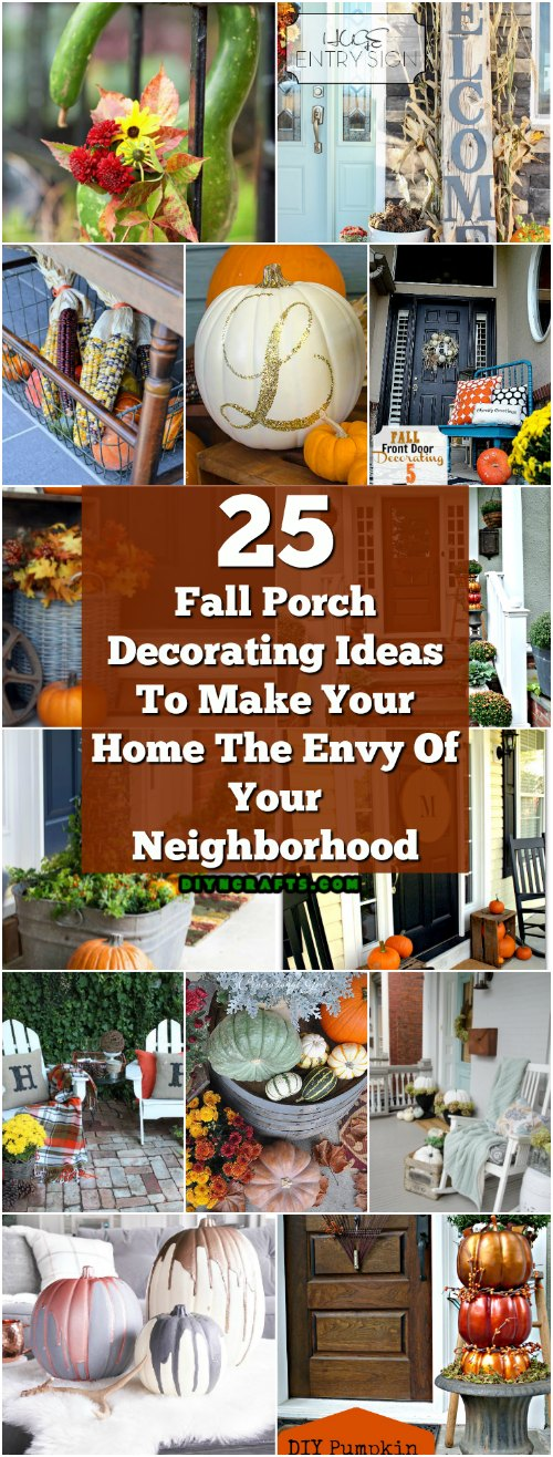 25 Fall Porch Decorating Ideas To Make Your Home The Envy